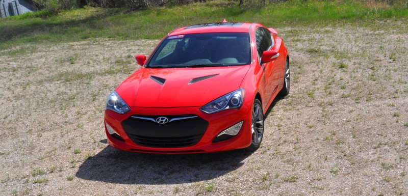 2014 Hyundai Genesis Coupe 3.8L V6 R-Spec - Road Test Review of FAST and FUN RWD Sportscar 65