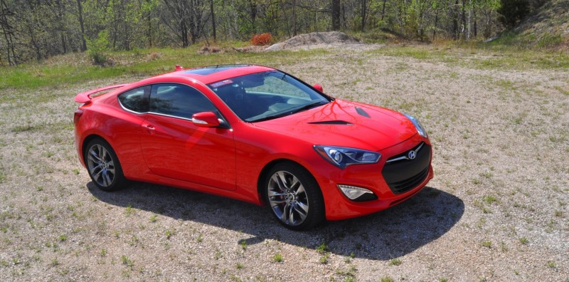 2014 Hyundai Genesis Coupe 3.8L V6 R-Spec - Road Test Review of FAST and FUN RWD Sportscar 74