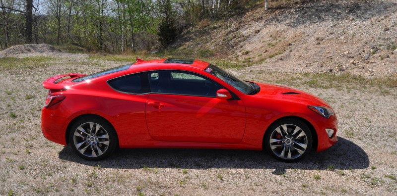 2014 Hyundai Genesis Coupe 3.8L V6 R-Spec - Road Test Review of FAST and FUN RWD Sportscar 79