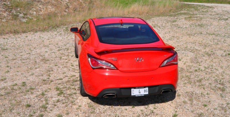 2014 Hyundai Genesis Coupe 3.8L V6 R-Spec - Road Test Review of FAST and FUN RWD Sportscar 91