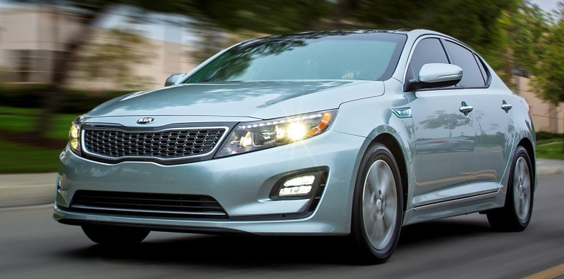 2014 Kia Optima Hybrid Updated With New Grille and LEDs Front and Rear - Specs, Features and Pricing 23
