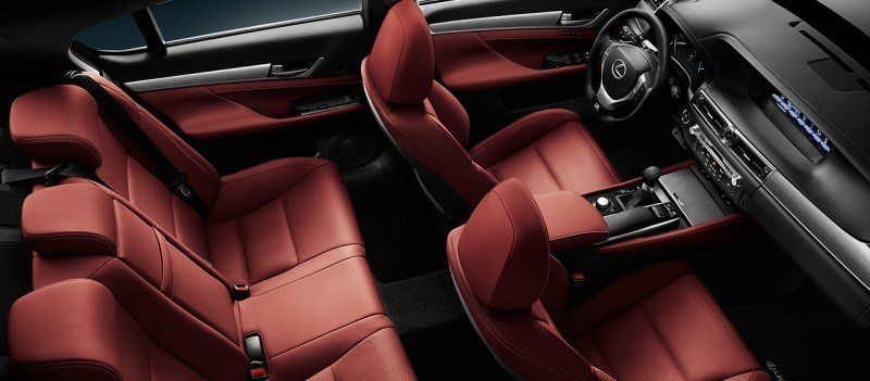 2014 Lexus GS350 and GS F Sport - Buyers Guide Info 42