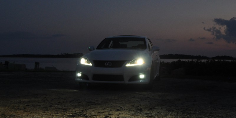 2014 Lexus IS-F Looking Sublime in Sunset Photo Shoot 10