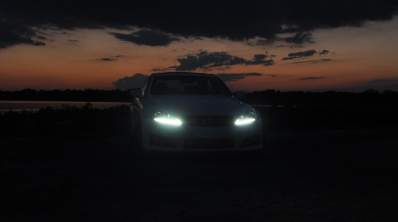 2014 Lexus IS-F Looking Sublime in Sunset Photo Shoot 13