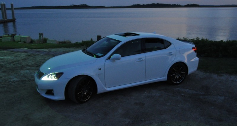 2014 Lexus IS-F Looking Sublime in Sunset Photo Shoot 20