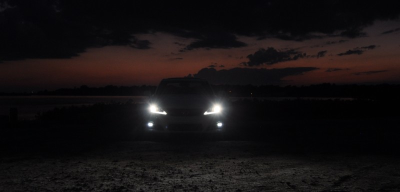2014 Lexus IS-F Looking Sublime in Sunset Photo Shoot 25