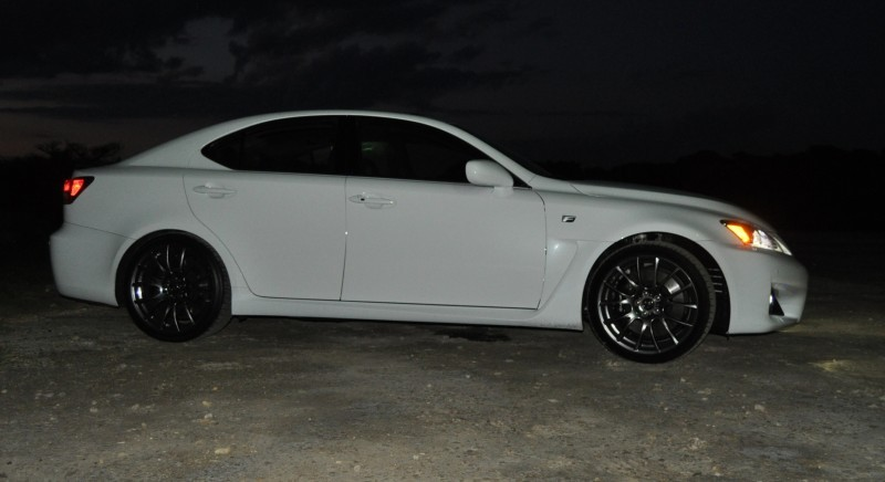 2014 Lexus IS-F Looking Sublime in Sunset Photo Shoot 32