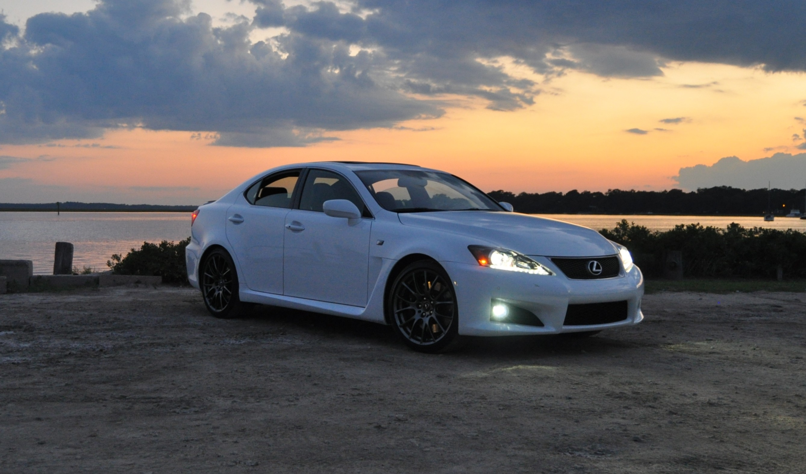 2014 Lexus ISF Looking Sublime for Sunset Shoot on the Bayou