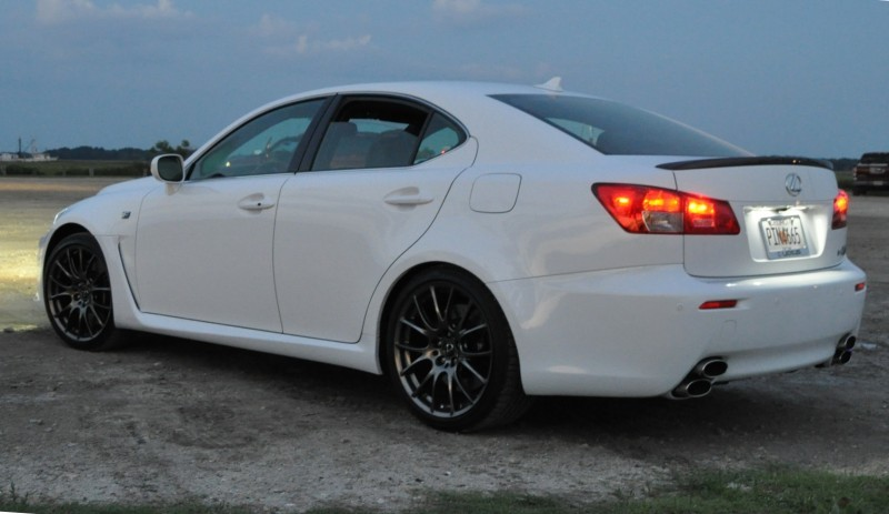 2014 Lexus IS-F Looking Sublime in Sunset Photo Shoot 9