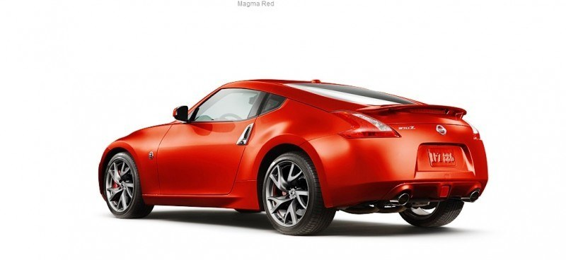 2014 Nissan 370Z Coupe - Colors, Specs, Options and Prices from $30k 20
