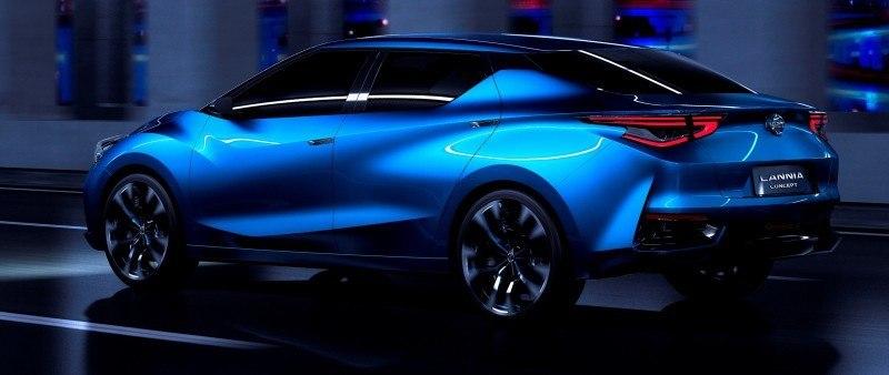 2014 Nissan Lannia Concept Previews Next Leaf EV 12