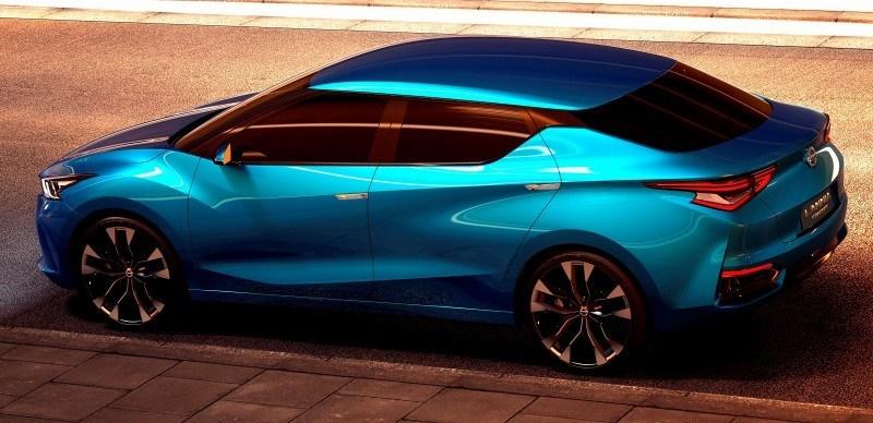 2014 Nissan Lannia Concept Previews Next Leaf EV 14
