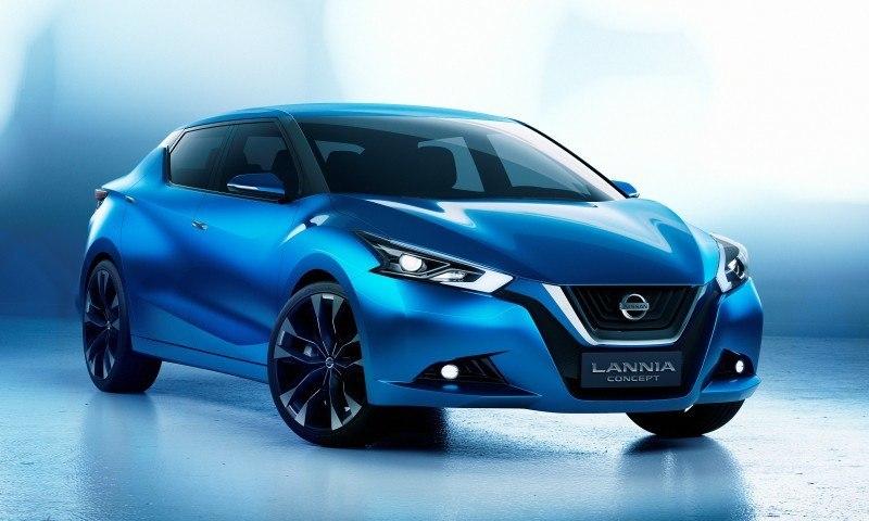 2014 Nissan Lannia Concept Previews Next Leaf EV 18