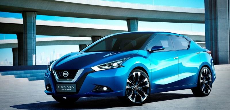 2014 Nissan Lannia Concept Previews Next Leaf EV 2