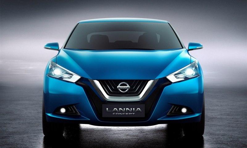 2014 Nissan Lannia Concept Previews Next Leaf EV 23