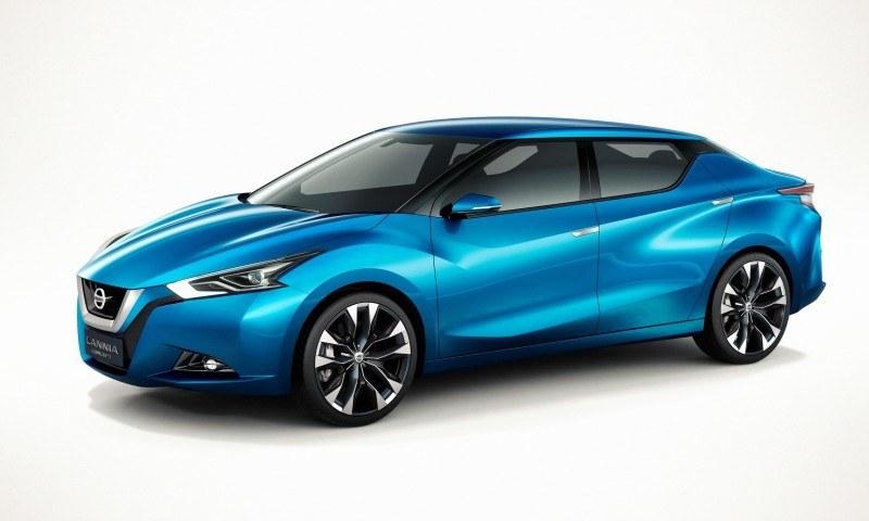 2014 Nissan Lannia Concept Previews Next Leaf EV 25
