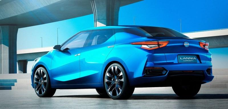 2014 Nissan Lannia Concept Previews Next Leaf EV 4