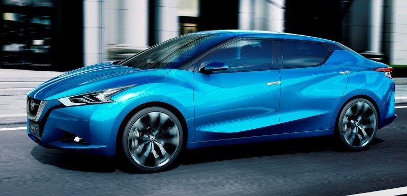 2014 Nissan Lannia Concept Previews Next Leaf EV 6