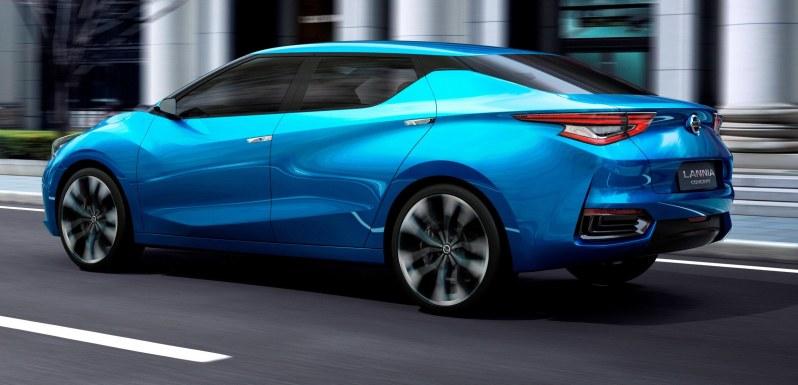 2014 Nissan Lannia Concept Previews Next Leaf EV 7