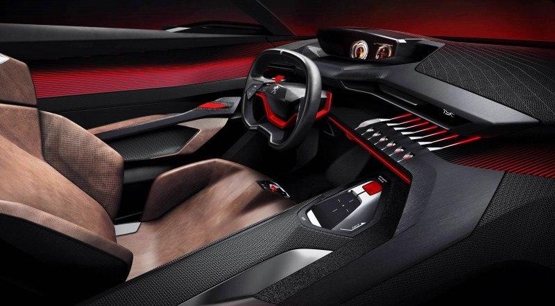 2014 Peugeot Quartz Concept Revealed Ahead of Paris Show  13