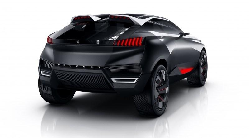2014 Peugeot Quartz Concept Revealed Ahead of Paris Show  16
