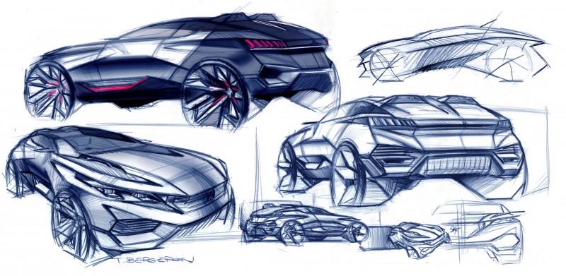 2014 Peugeot Quartz Concept Revealed Ahead of Paris Show  2