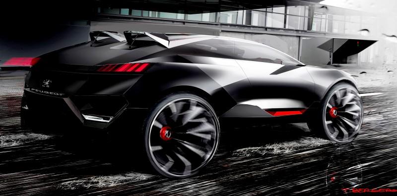 2014 Peugeot Quartz Concept Revealed Ahead of Paris Show  5