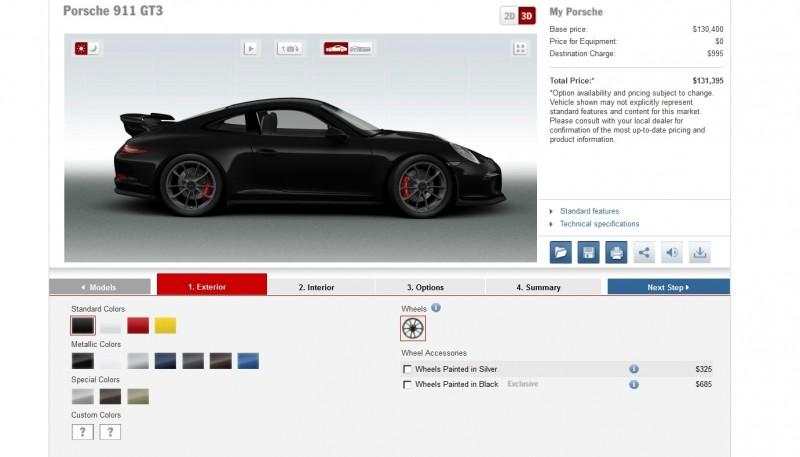 2014 Porsche 911 GT3 All Colors  8