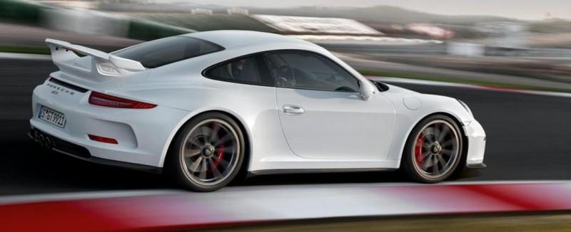 2014 Porsche 911 GT3 Is 9000-RPM Boxer Bliss 12
