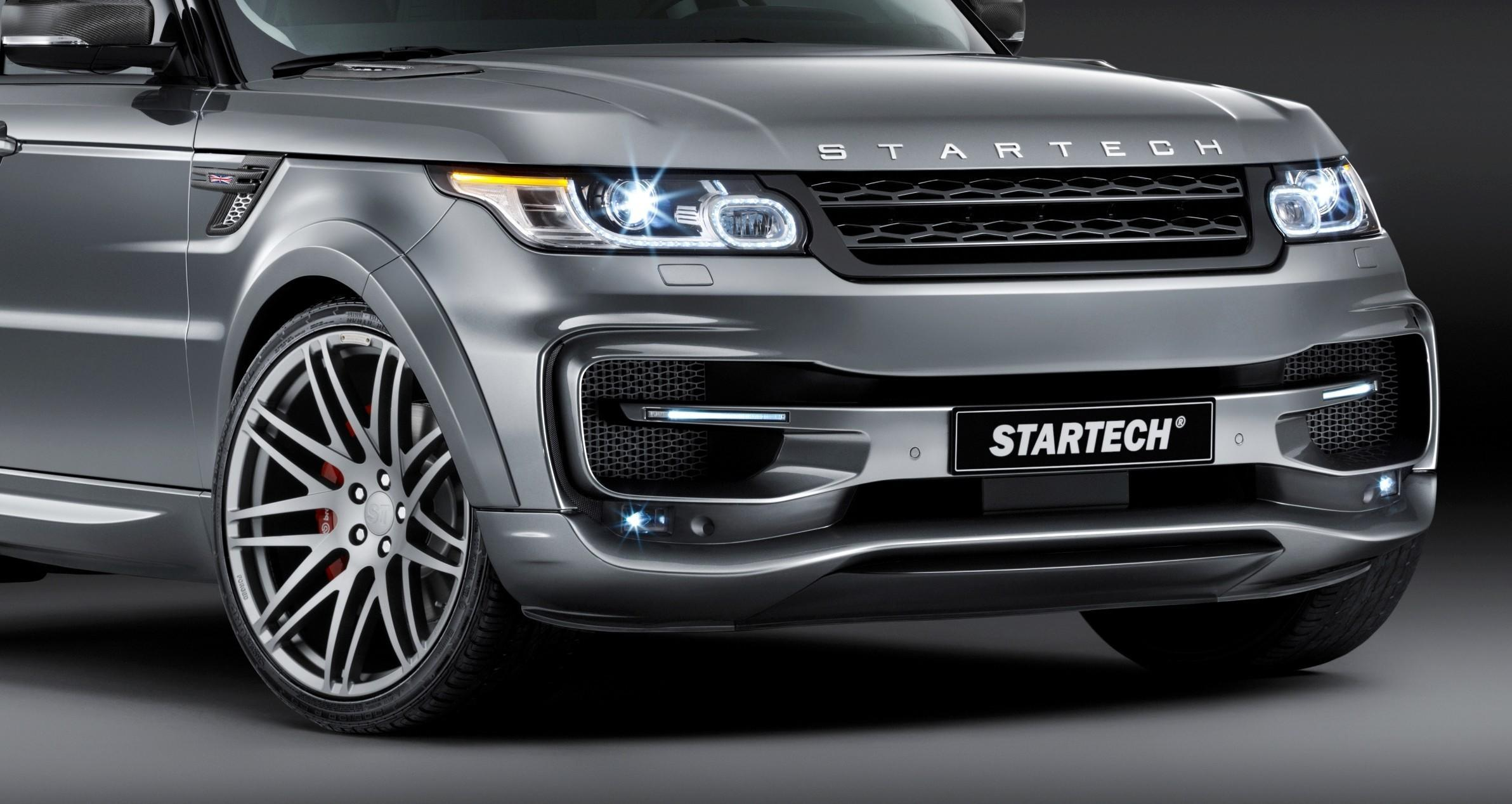 2014 Range Rover Sport STARTECH Widebody on 23 Inch Wheels Looks
