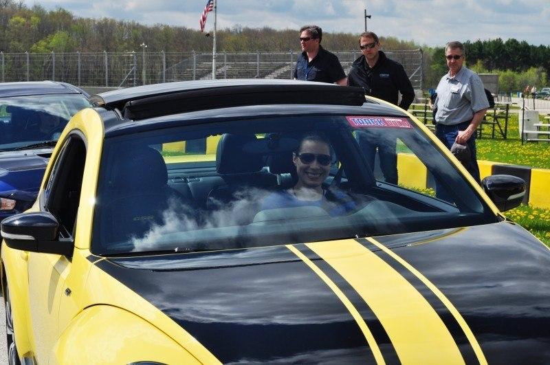 2014 Volkswagen Beetle GSR Scoots Around Go-Kart Autocross at Road America 20