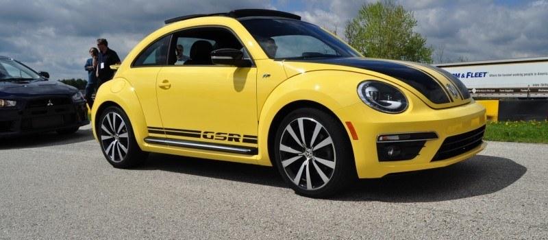 2014 Volkswagen Beetle GSR Scoots Around Go-Kart Autocross at Road America 25