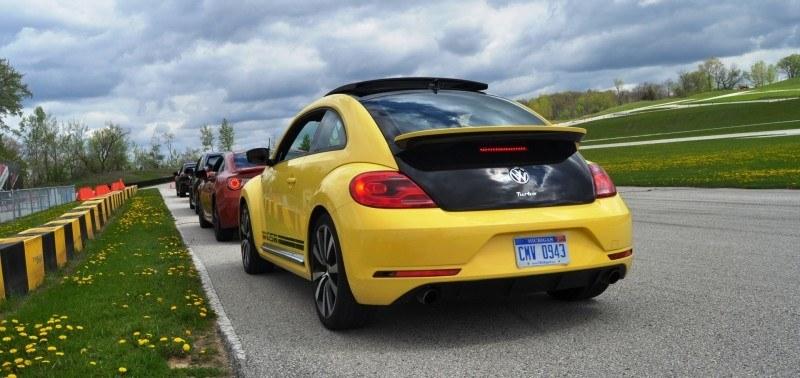 2014 Volkswagen Beetle GSR Scoots Around Go-Kart Autocross at Road America 40