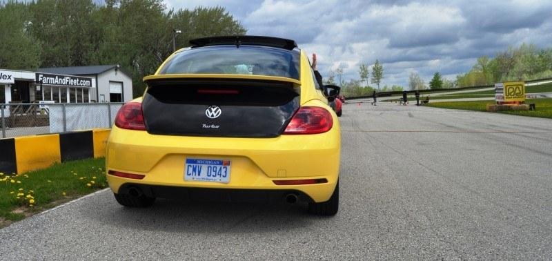 2014 Volkswagen Beetle GSR Scoots Around Go-Kart Autocross at Road America 47