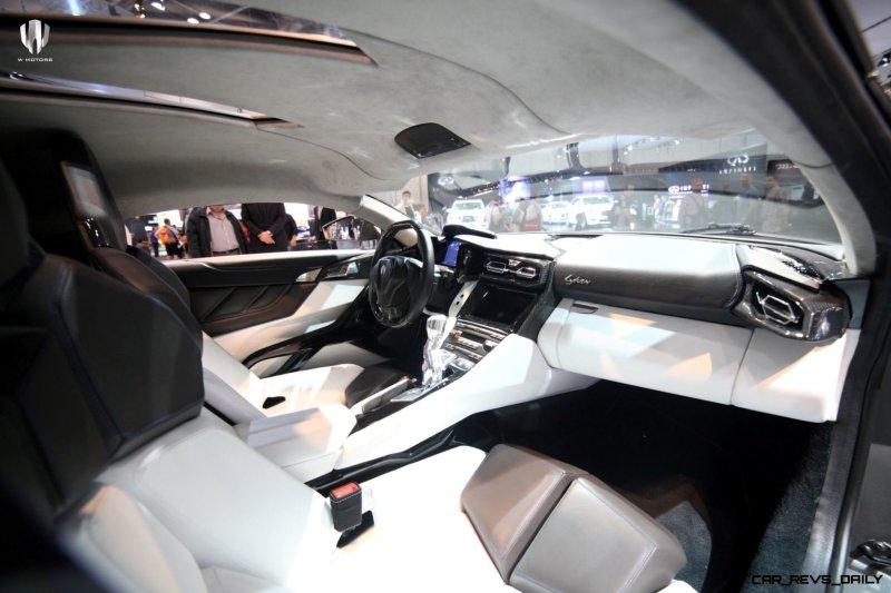 2014 W Motors Lykan Hypersport in 40+ Amazing New Wallpapers, Including MegaLux Interior 32