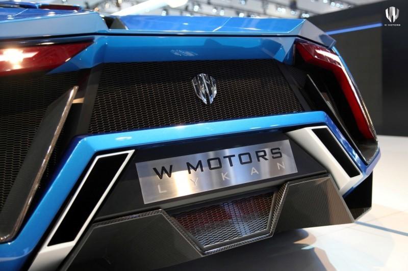 2014 W Motors Lykan Hypersport in 40+ Amazing New Wallpapers, Including MegaLux Interior 42