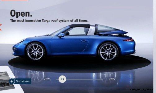 2014 911 TARGA ANIMATION Images 45