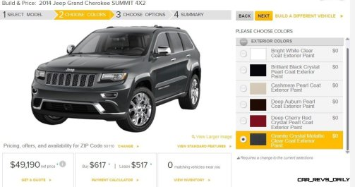 2014 Jeep Grand Cherokee Summit, Overland and Ltd 10