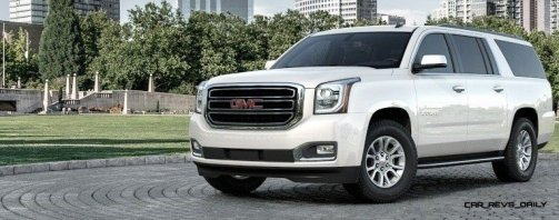 2015 GMC Yukon XL - Animated Turntables of 9 Color Choices 224