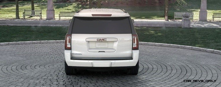 2015 GMC Yukon XL - Animated Turntables of 9 Color Choices 238