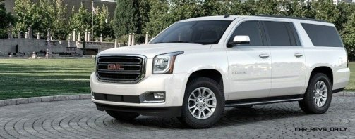 2015 GMC Yukon XL - Animated Turntables of 9 Color Choices 248