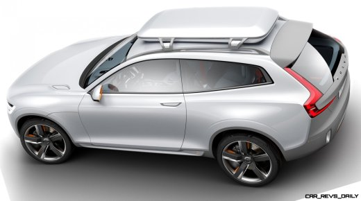 2015 Volvo XC90 Closely Previewed by New XC Coupe Concept for Detroit 19