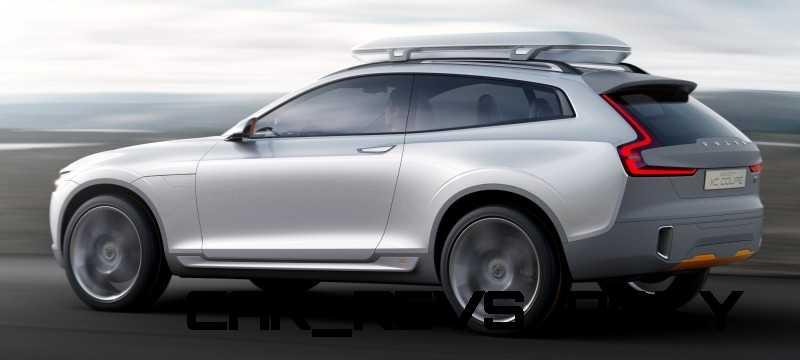 2015 Volvo XC90 Closely Previewed by New XC Coupe Concept for Detroit 7