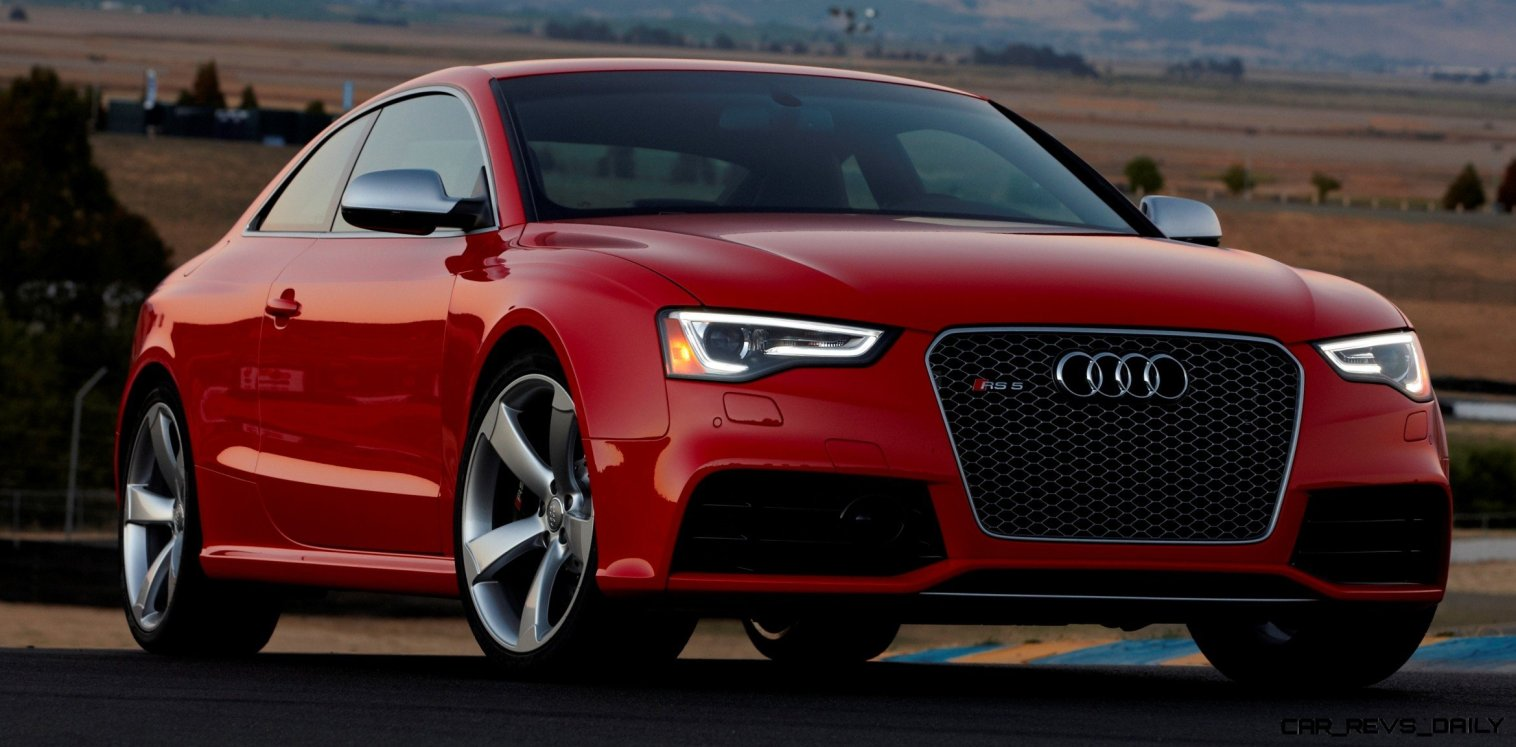 Audi RS5 Coupe Track Photos 12