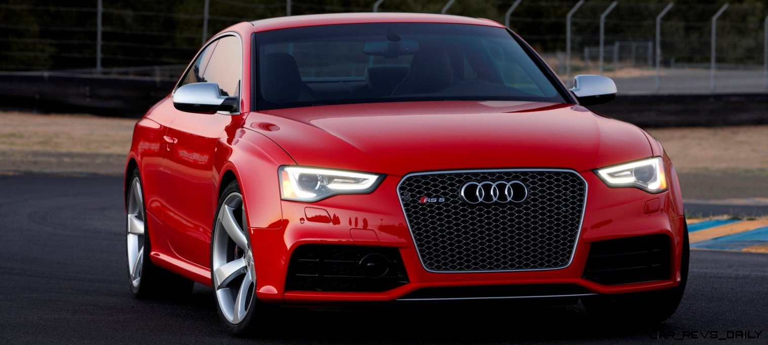Audi RS5 Coupe Track Photos 13