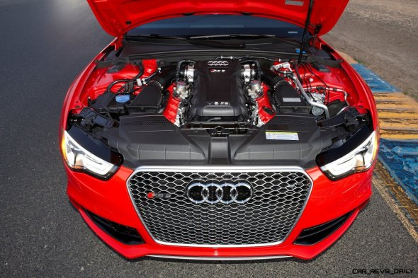 Audi RS5 Coupe Track Photos 15