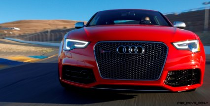 Audi RS5 Coupe Track Photos 8