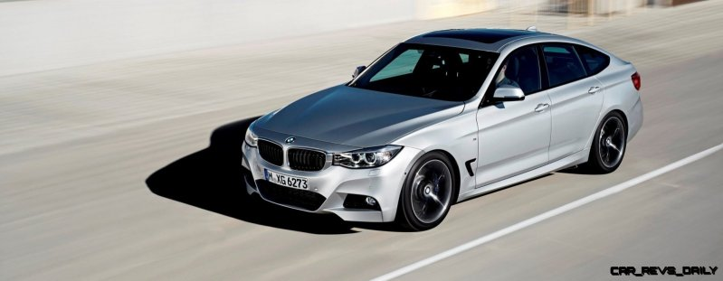 Best of Awards - 1000 miles at 100MPH - 2014 M Sport BMW 335i GT 55