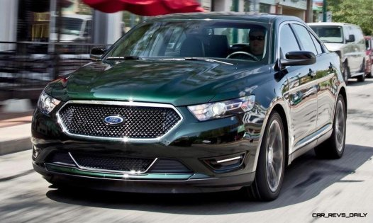 Best of Awards - 2014 Ford Taurus and Taurus SHO - Biggest Trunk and EcoBoost Turbo Innovator 85