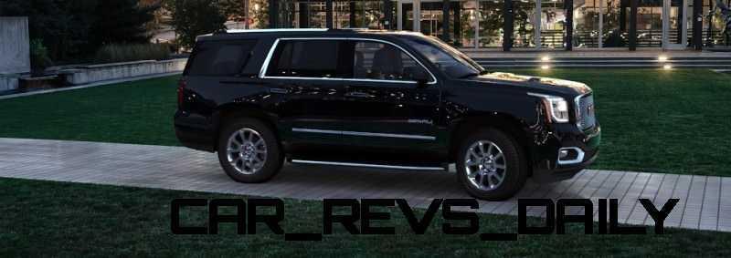 CarRevsDaily - 2015 GMC Yukon Denali - Colors - Onyx Black 44